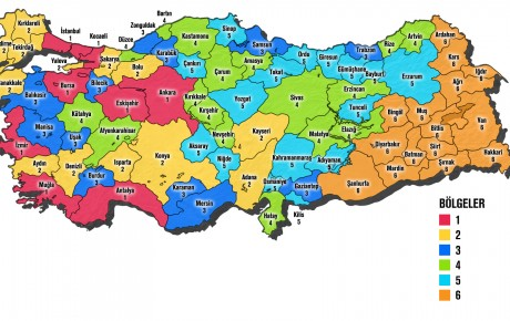 Türkiye yatırım teşvik haritası