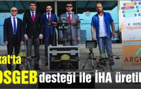 KOSGEB ARGE Desteği ile İnsansız hava aracı üretildi